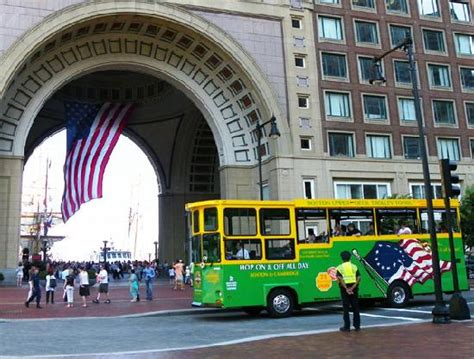 the most stops of any tour route in boston picture of boston deck trolley tours boston