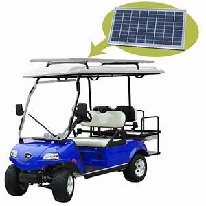Hdk Solar Panel Golf Cart