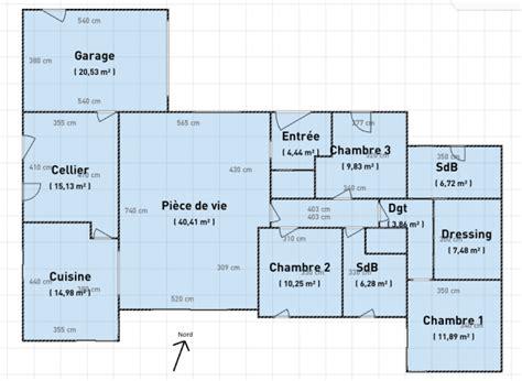 plan maison 5 chambres plain pied plan maison plain pied 5 chambres avec suite parentale