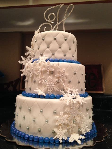 winter wonderland wedding cake cakecentralcom