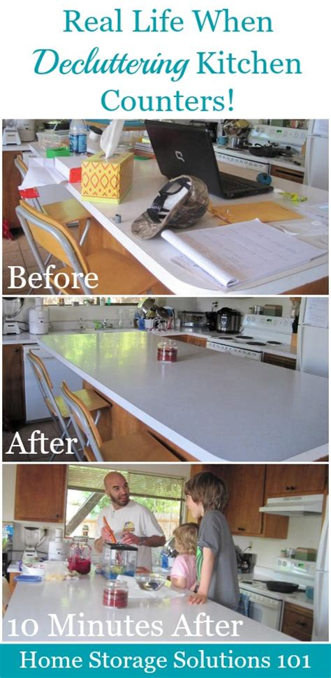real solutions kitchen organizers how to declutter kitchen counters make it a habit 4511