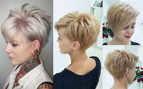 short hairstyle evening fashion  women