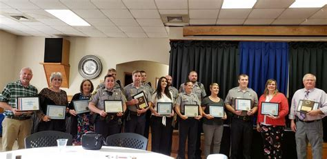 sheriffs office honors   news  leavenworth