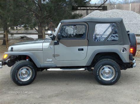 wrangler jeep 2 door 2006 jeep wrangler se sport utility 2 door 2 4l