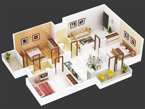 bhk floor plan isometric view design  hastinapur smart