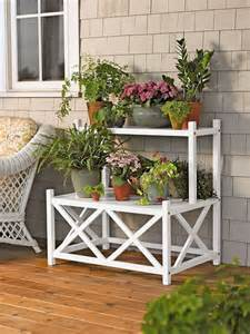 25 best ideas about outdoor plant stands on diy yard decor garden ideas diy and