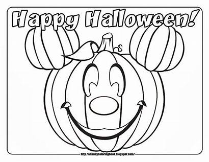 Halloween Coloring Pages Printable Pumpkin Own Printables