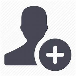 Account, add, create, female, new, plus, user icon   Icon ...