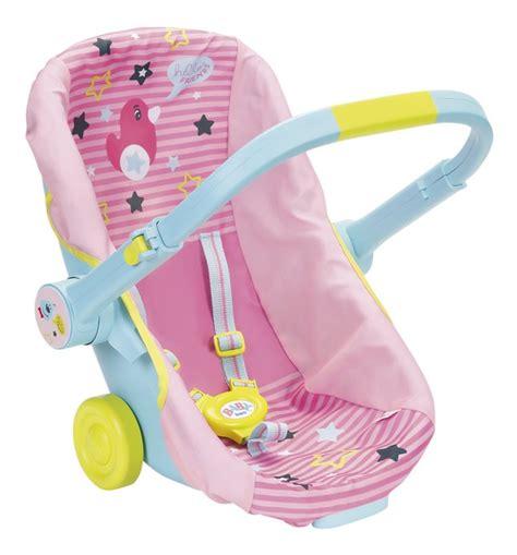 siege auto portable baby born siège auto portable 3 en 1 dreamland