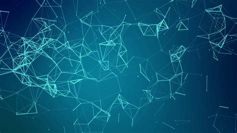 Abstract Wallpaper Png by Abstract Background With Blue Molecule Structure Low Poly