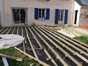 Lambourde Terrasse Composite : terrasse bois espacement lambourde ~ Premium-room.com Idées de Décoration