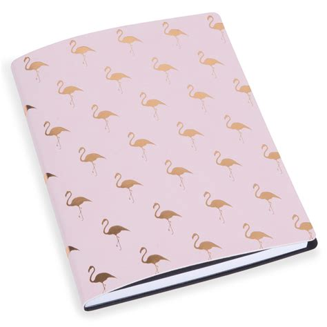 decoration chambre ado carnet de notes flamingos pink maisons du monde