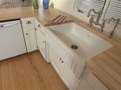 installing farmhouse sink in existing cabinets installing apron sink cabinet