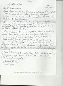 Jiah Khan's letter made public by her mother Rabia Khan ...