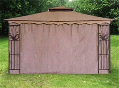 gazebo canopy tent privacy side wall panel fits