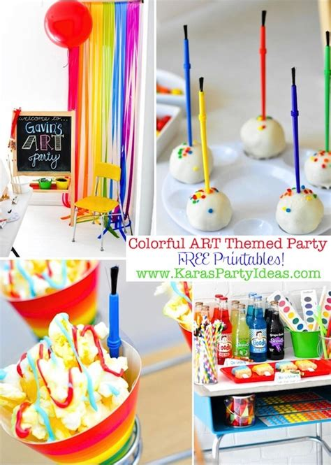 kara 39 s party ideas rainbow themed birthday party kara 39 s party ideas colorful party with tons of ideas