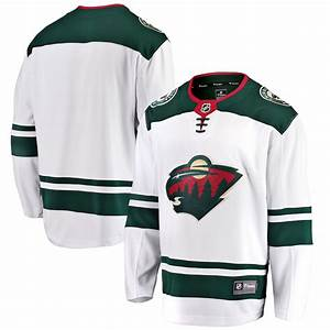 Fanatics Nhl Jersey Size Chart Men 39 S Minnesota Wild Fanatics Branded White Breakaway Away