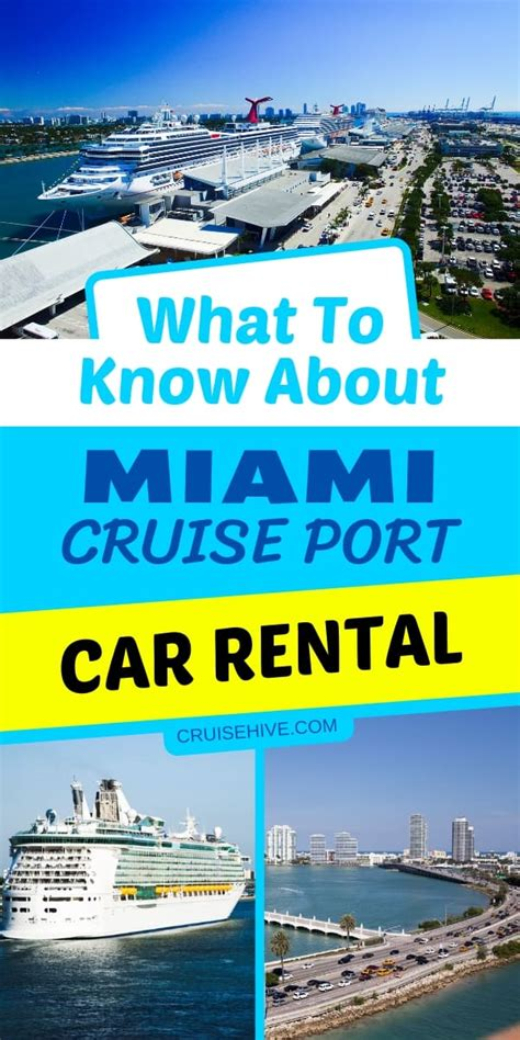 Car Rentals At Miami Cruise by What To About Miami Cruise Car Rental