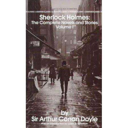 holmes sherlock novels complete stories
