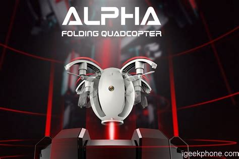 kaideng alpha  mini folding arm rc quadcopter design features review