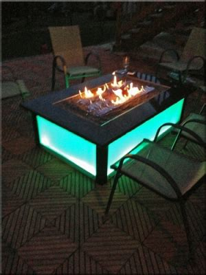 propane fire table glass fire burner accessories for fire pit tables with fireglass