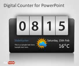 counter powerpoint template  powerpoint