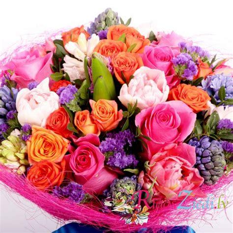 Pavasara ziedu pušķis   Rīgas Ziedi