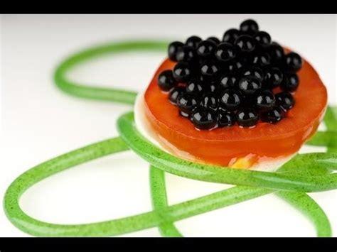 cuisine moleculaire molecular gastronomy balsamic vinegar pearls