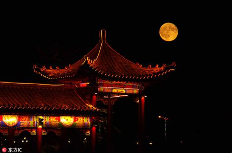Full moon celebrates Mid-Autumn Festival[2]- Chinadaily.com.cn