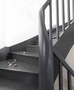 peindre escalier bois en gris ciabizcom With peindre les contremarches d un escalier en bois 17 escalier peint 16 idees peinture escalier bricobistro