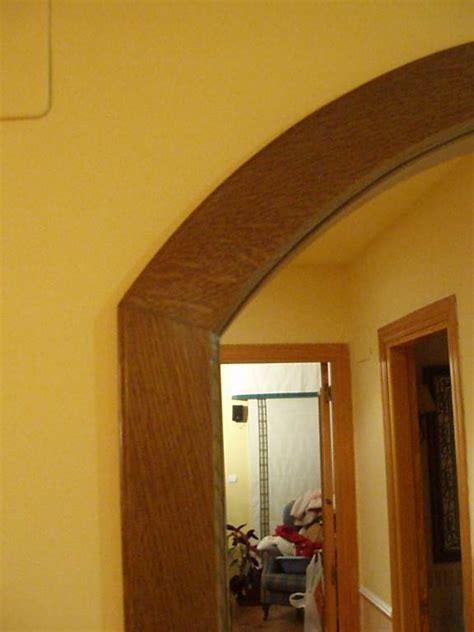 arco de paso en madera de roble muebles cansado
