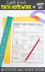 8th Grade Math Spiral Review