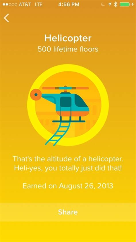 Fitbit Floors Climbed Badges by Fitbit Badges And Helicopters On