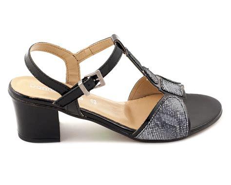 Papucescu - Sandale Dama 9500 Nero