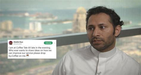 Careem Co-founder Abdulla Elyas Invites Users Over Coffee