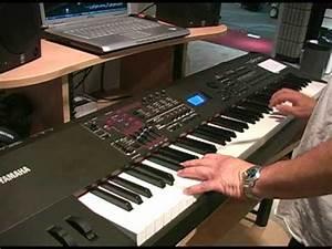 Yamaha S70XS synthesizer Summer NAMM demo - YouTube