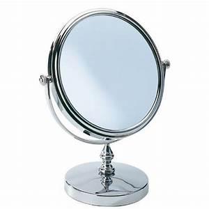 Miroir Sur Pied : wenko 3656190100 romantic miroir sur pied achat vente miroir salle de bain cdiscount ~ Teatrodelosmanantiales.com Idées de Décoration