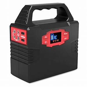150w Portable Solar Generator Power Inverter Power