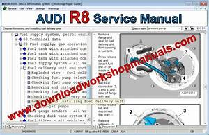 Audi R8 Workshop Repair Manual