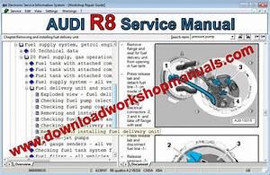 Audi R8 Workshop Repair Manual