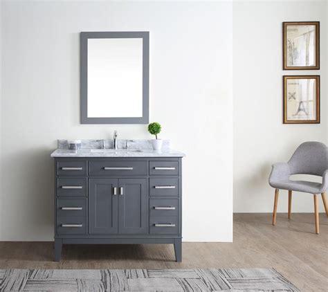 danny  bathroom vanity maple grey ari kitchen bath
