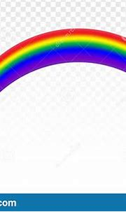 Realistic Rainbow Icon Isolated On A Transparent ...