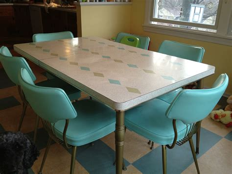 vintage kitchen table dinette 62044071cf23708a01c982d5a129470ae286116a