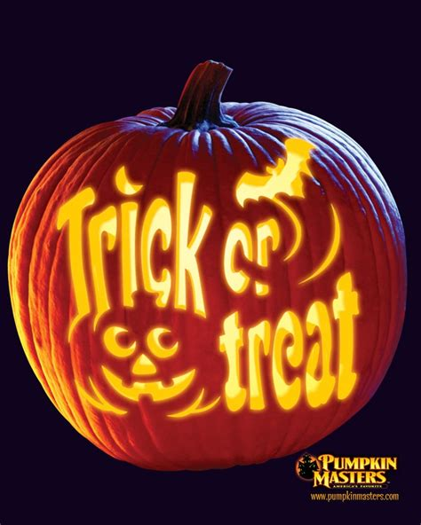 Trick Or Treat Pumpkin Carving Templates Free top 5 halloween pumpkin carving patterns and ideas