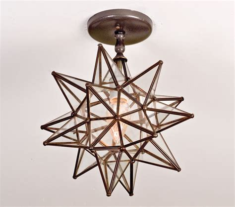 pendant lighting ideas nice finishing moravian star