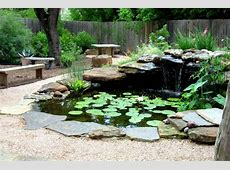 Beautiful garden pond ideas Orchidlagooncom