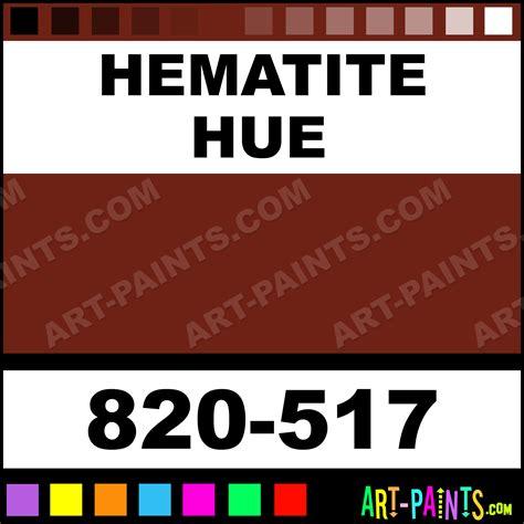 what color is hematite hematite artist paints 820 517 hematite paint