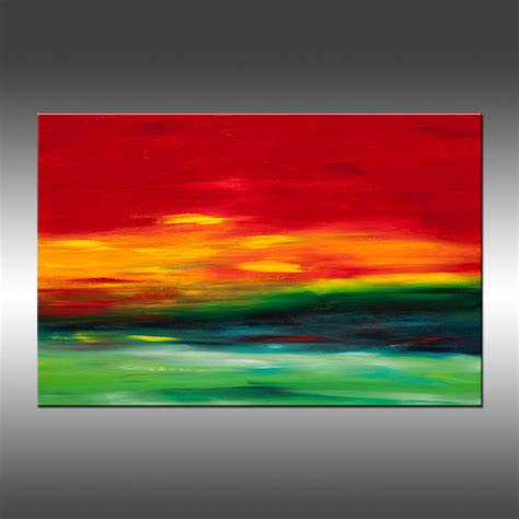 series vibrant original modern landscape paintings contemporary paintings