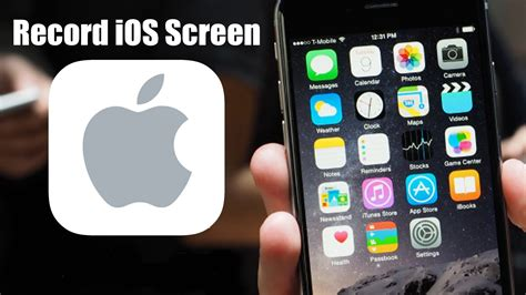 screen record on iphone how to record iphone screen without jailbreak