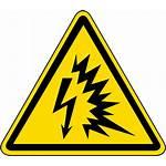 Flash Arc Hazard Label Iso Symbol Safety